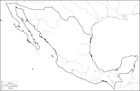 Maps Mexico by Mexico Free Map Free Blank Map Free Outline Map Free Base Map