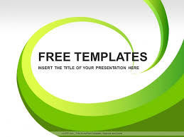 download templates powerpoint free green concept powerpoint