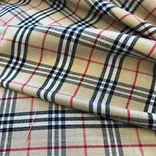burberry scotch plaid tartan cotton fabric 60 wide fabric by the