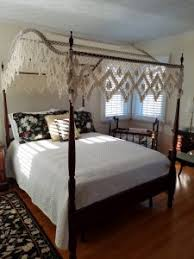 Vintage Canopy Bed Antique Beds Antique Bed History Bohemian S