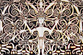 indonesian pattern indonesian tribal pattern stock editorial photo saiko3p 83284074