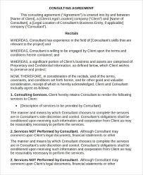 consulting agreement form hitecauto us