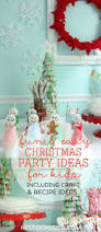 christmas party ideas for kids including craft and recipe ideas