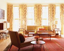 mid century modern curtains living room midcentury with australian