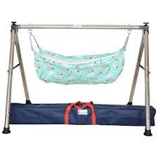 Foldable Baby Crib by Buy Indian Style Semi Folding Stainless Steel Ghodiyu Baby