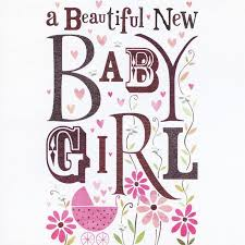 baby girl cards beautiful new baby girl card karenza paperie