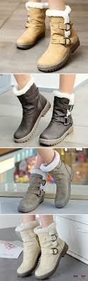 womens size 12 casual boots us 26 55 big size color warm fur lining winter ankle