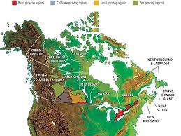 Canadian Garden Zones - canada u0027s growing regions