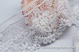 Lace Trim Curtains Curtain Beige Guipure Lace Trim With Scalloped Edgecotton Lacewide