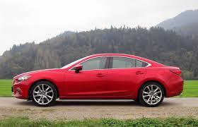 mazda full size sedan car review 2015 mazda6 driving