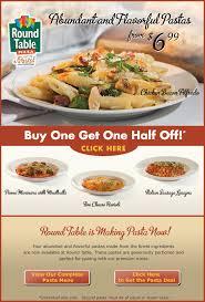 Round Table Pizza Menu Prices by Bogoho Pasta Jpg