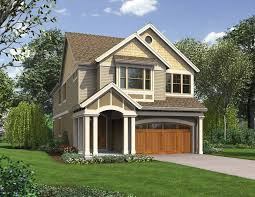 home plans for narrow lot cool narrow lot house plans with front garage