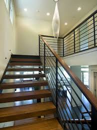 metal banister ideas modern black metal stair rail design pictures remodel decor and
