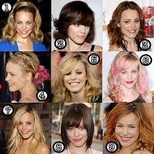 voted best hair dye rachel mcadams her best hair makeup and beauty blog
