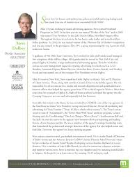 Resume Of A Real Estate Agent Austin Real Estate Agent Biography Steve Dalbey Moreland