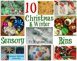10 sensory bins for christmas and winter it u0027s playtime the