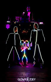 Led Light Halloween Costume by
