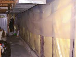 Vapor Barrier Basement Floor Laminate Basement Moisture Barrier Free Exterior Facing Wall In Bathroom