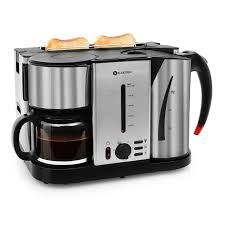 Toaster Kettle Set Klarstein Hattrick 3 In 1 Breakfast Set Coffee Maker Water Kettle