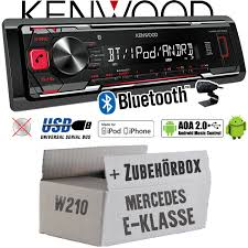 mercedes e class bluetooth kenwood vehicle radio for mercedes e class w210 bluetooth mp3 usb