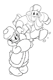 donald daisy duck coloring pages fun
