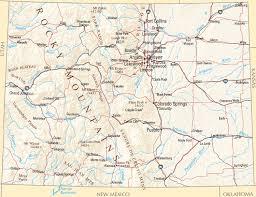 map us states colorado colorado map map of colorado