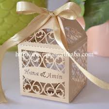 silver party favors 50pcs personalized gold silver wedding party favors door gift