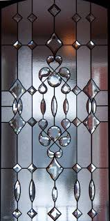 lead glass door inserts stained glass bevel patterns designideias com