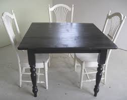 reclaimed wood game table rustic square black game table lake and mountain home