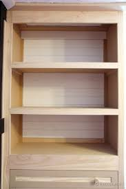 Free Built In Bookcase Woodworking Plans by Remodelaholic Built In Closet Hack