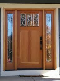 painted front doors with sidelights front door with sidelights