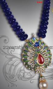 sapphire beads necklace images Blue sapphire beads necklace bead necklaces sapphire and beads jpg