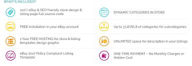 ebay listing template design in master chef theme low price ebay