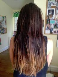 dye bottom hair tips still in style dark ombré i think this matches more of my hair color although