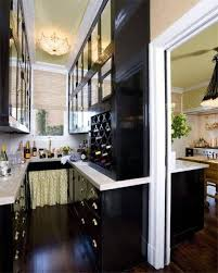 kitchen style beach style galley kitchen design brown cabinets
