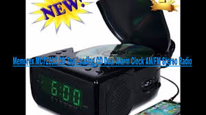 memorex mc7223x cd top loading cd dual alarm clock am fm stereo