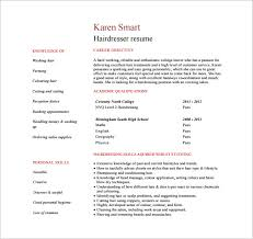 Free Pdf Resume Templates Download Hair Stylist Resume Template U2013 9 Free Word Excel Pdf Format