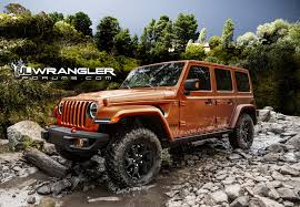 types of jeeps 2018 jeep wrangler rendered