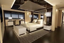 modern luxury bedroom designs black high gloss lacquer finish oak