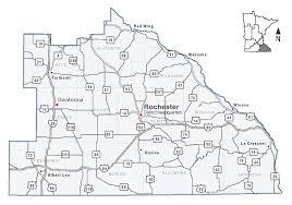 Minnesota Map Southeast Minnesota District 6