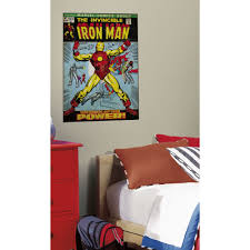 marvel avengers iron man giant sticker great kidsbedrooms the home marvel avengers iron man giant sticker