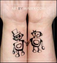 boyfriend girlfriend matching tattoos