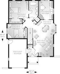 cottage home floor plans 28 x 32 homes floor plans home plan luxihome