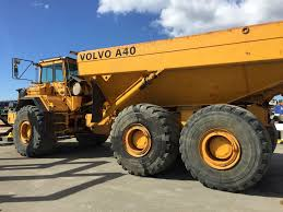 volvo big truck abk machines as volvo a40