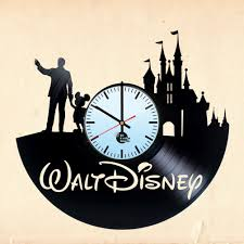 Disney Home Decor Ideas Recycled Disney Home Décor Ideas Vinyl Clocks