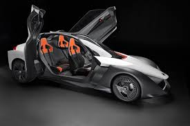 nissan race car delta wing olympics vips get rides in nissan bladeglider electric sports car