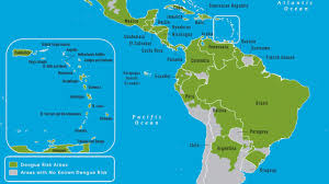 Where Is Puerto Rico On The Map Dengue Fieber Deximed