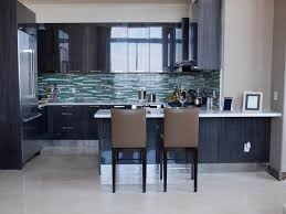 Glass Tile Kitchen Backsplash by Kitchen Backsplash Blue Subway Glass Tile Backsplash With Canopy