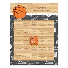 basketball baby shower nothin but net basketball personalized baby shower bingo