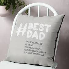 top home design hashtags personalised u0027best dad u0027 hashtag cushion by the drifting bear co